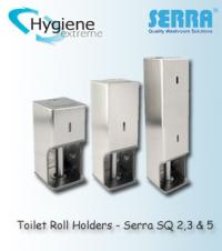 Toilet Roll Holders - SQ 2,3 & 5