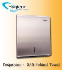 Paper Dispenser- Stainless Folded Towel