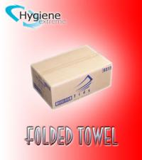 Folded Towel ( 2400 Sheet 2 Ply)